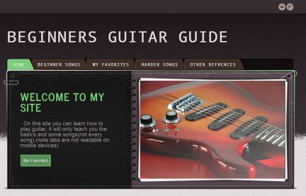 Guitar - Ethan R.
